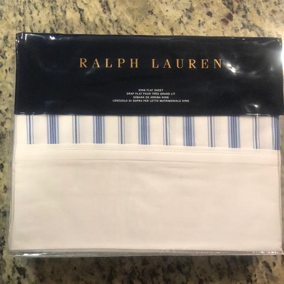 ralph lauren king size jobs lane fitted sheet